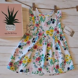 NWT Carters 6 Month Floral Dress